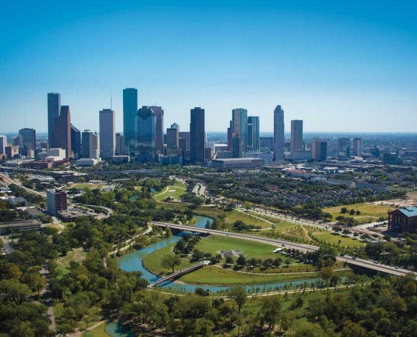 Houston Skyline image by The Odyssey Online