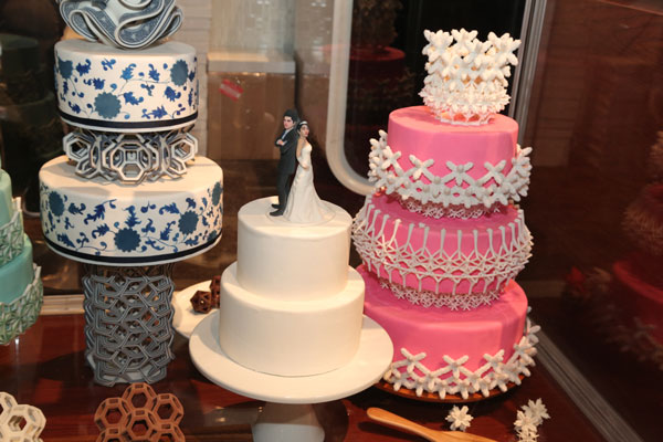 3D Printed Cakes at CES, image by Consumer Technology Association