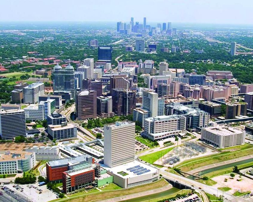 Texas Medical Center, image by Houston Business Journal
