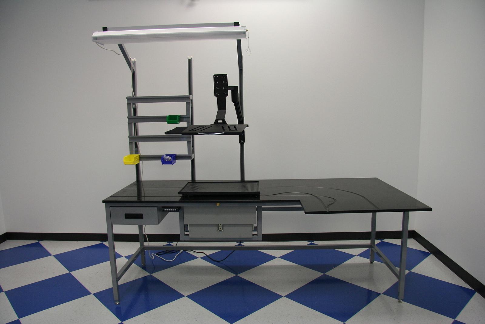 custom assembly bench