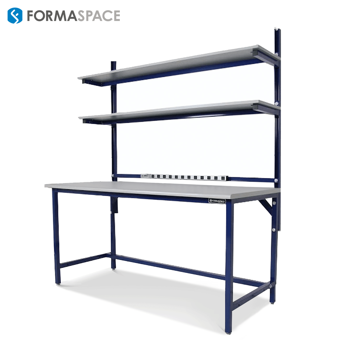 Benchmarx with Blue Powder Coated Steel Frame