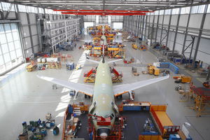 A320 Family production in Mobile Alabama