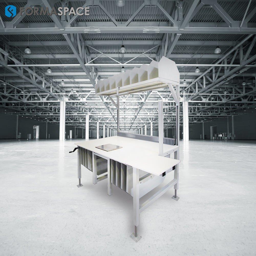 custom linear packing station
