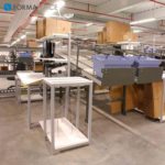 Material Handling Workstation with HDPE Tops