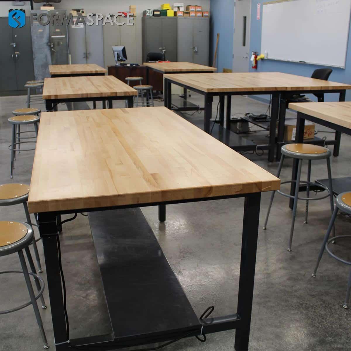 heavy duty classroom desks