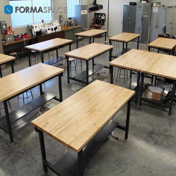 modular classroom setup
