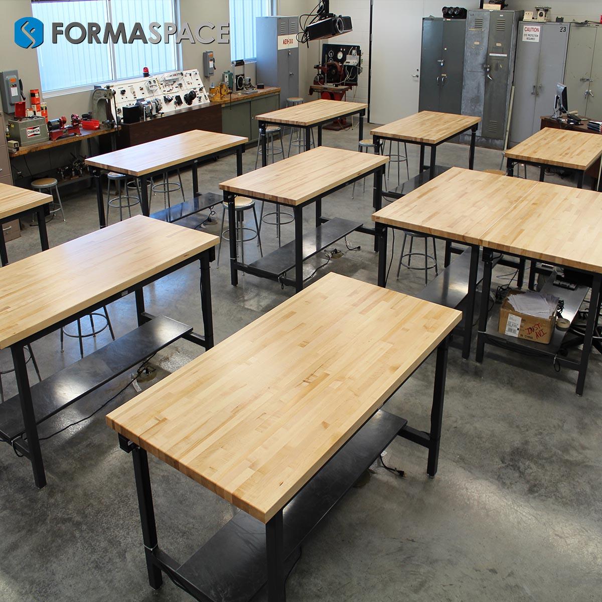 modular electronics classroom desks