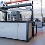 sample processing modular lab benches