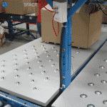 roller bar scales workstation