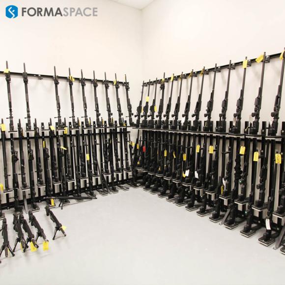 armory manufacturer - rifle storage rack