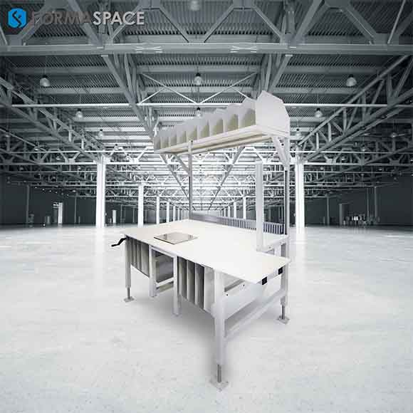Linear Flow Packing Station for Large E-Tailer