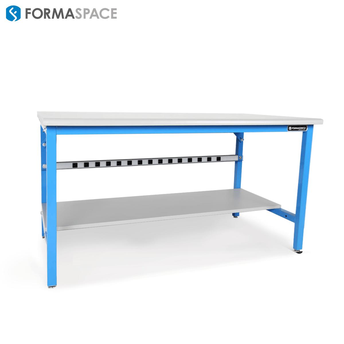 light blue basix workbench