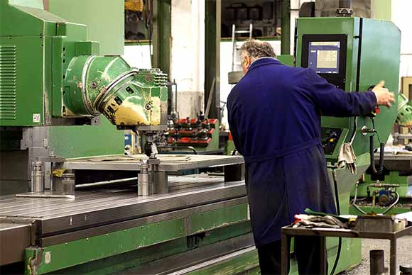 Manufacturing with Large Machine