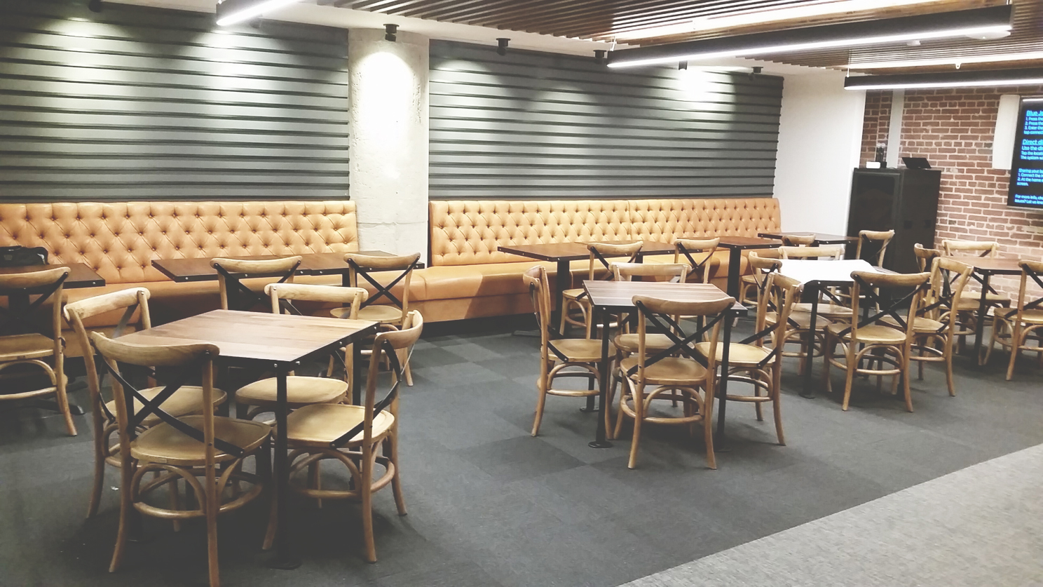Twitter Cafe Lounge Area