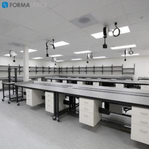 roche's sample processing laboratory furniture
