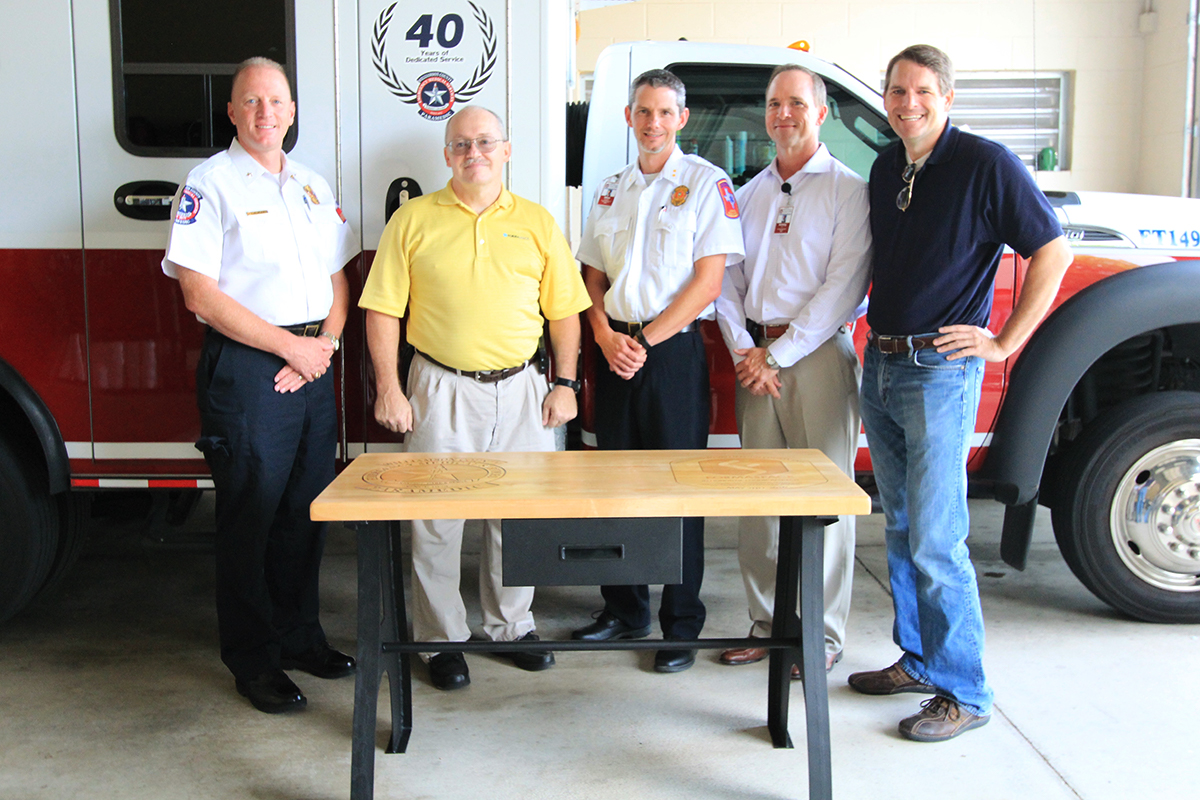 EMS saves heart attack victim