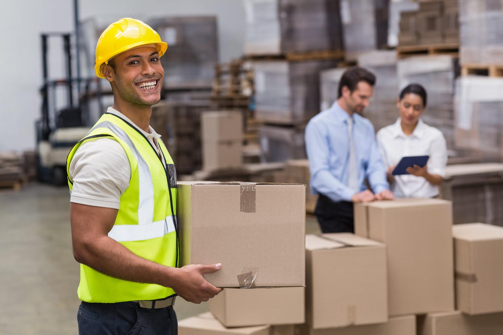 manual material handling at work