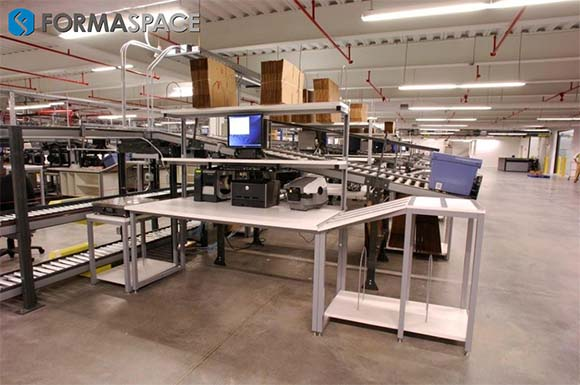 Integrated Linear Flow Packing Station