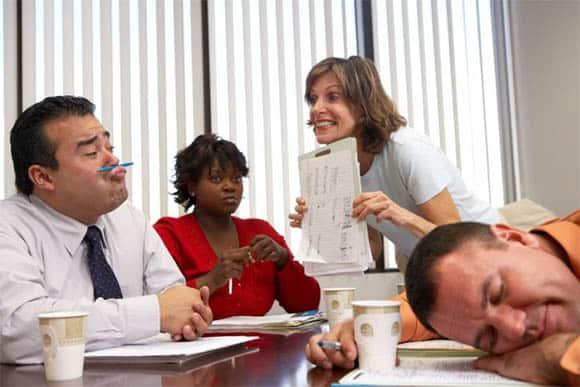 unproductive meeting