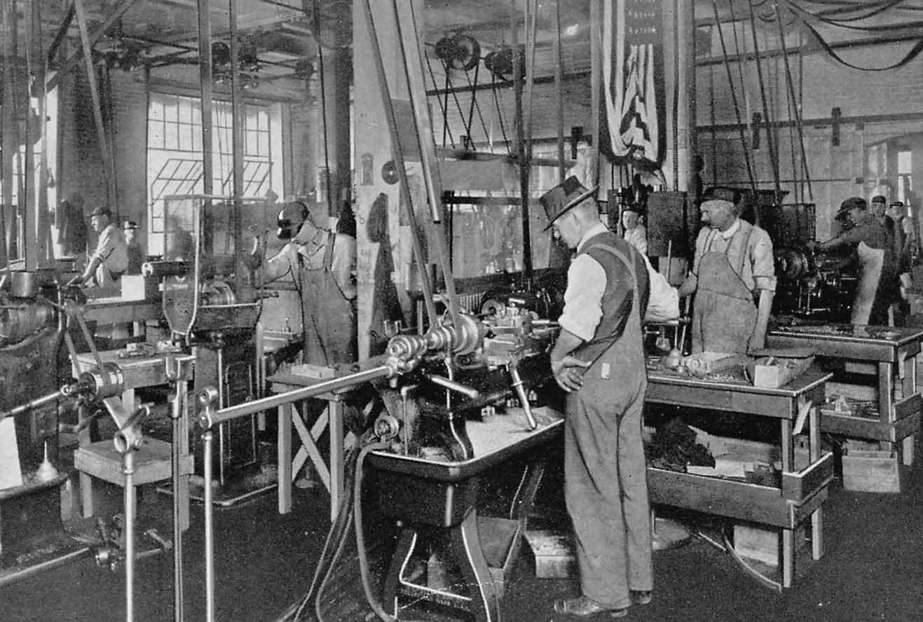 Holcomb & Hoke Factory Early 1900s – Shut Down in 2009