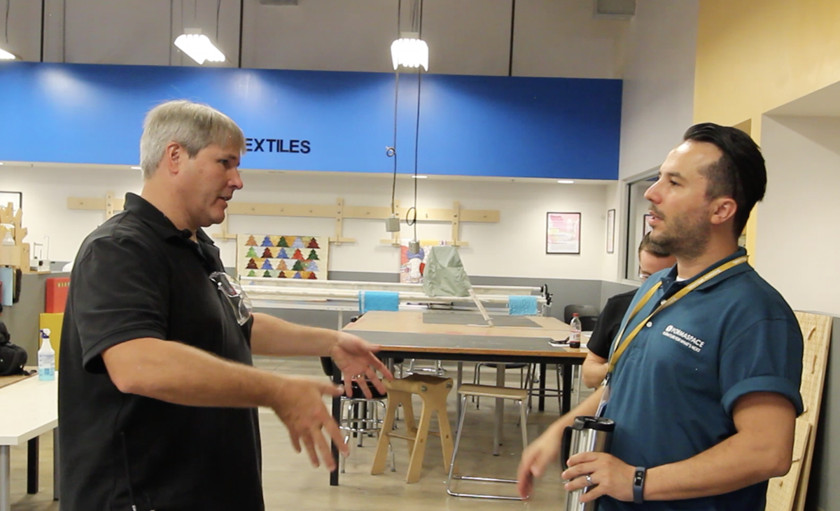 Techshop interview with Formaspace