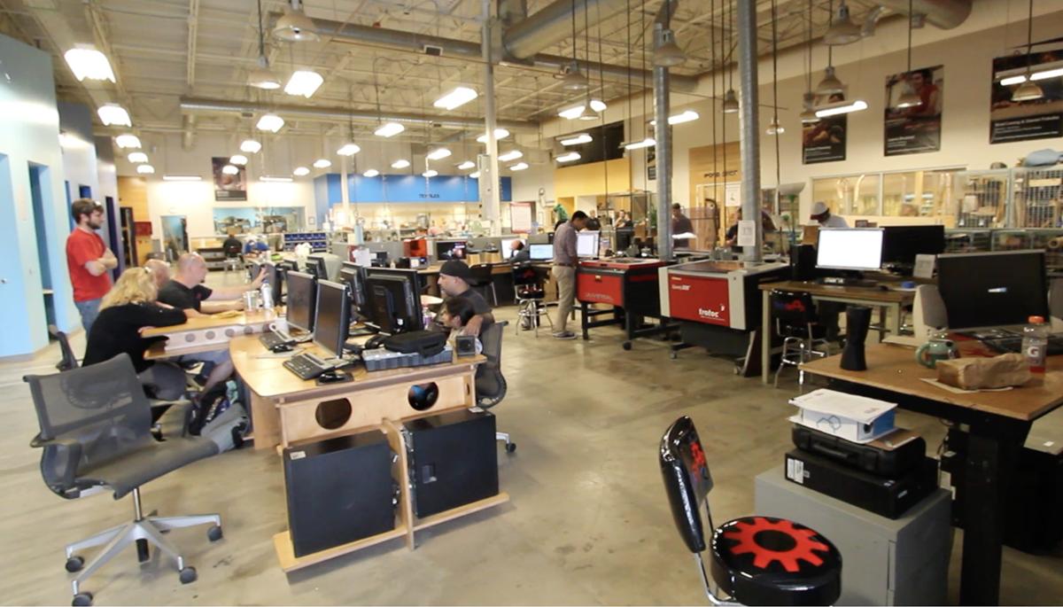 Austin Techshop Inside