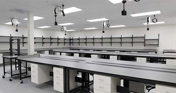 Ariosa Modular Wet Lab Installation