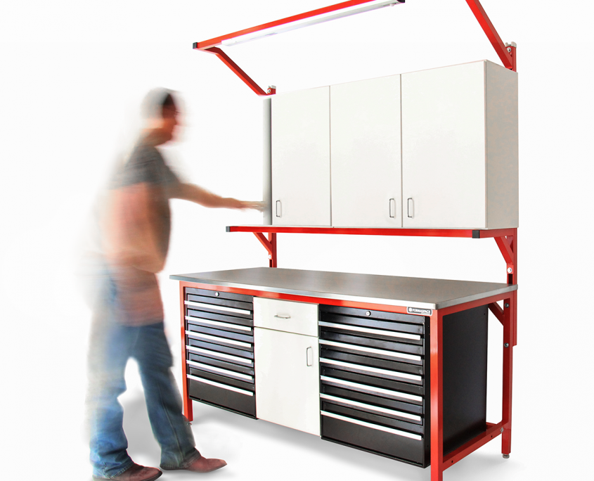 Tool Bench With Tool Box