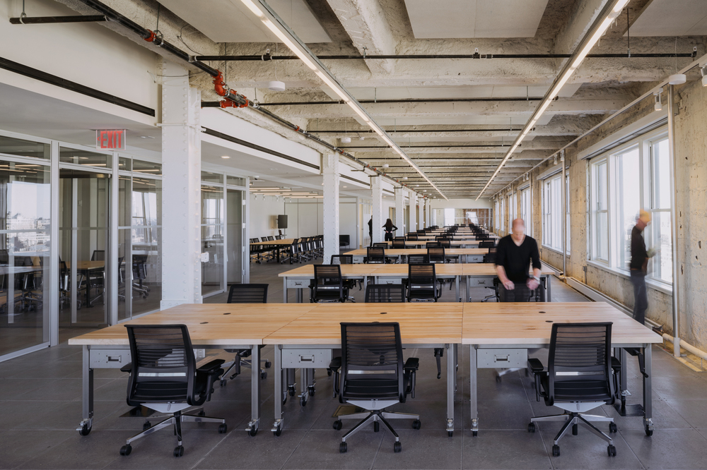 large open office