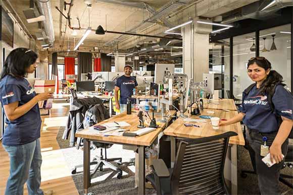 Capital One Formaspace Office Desks