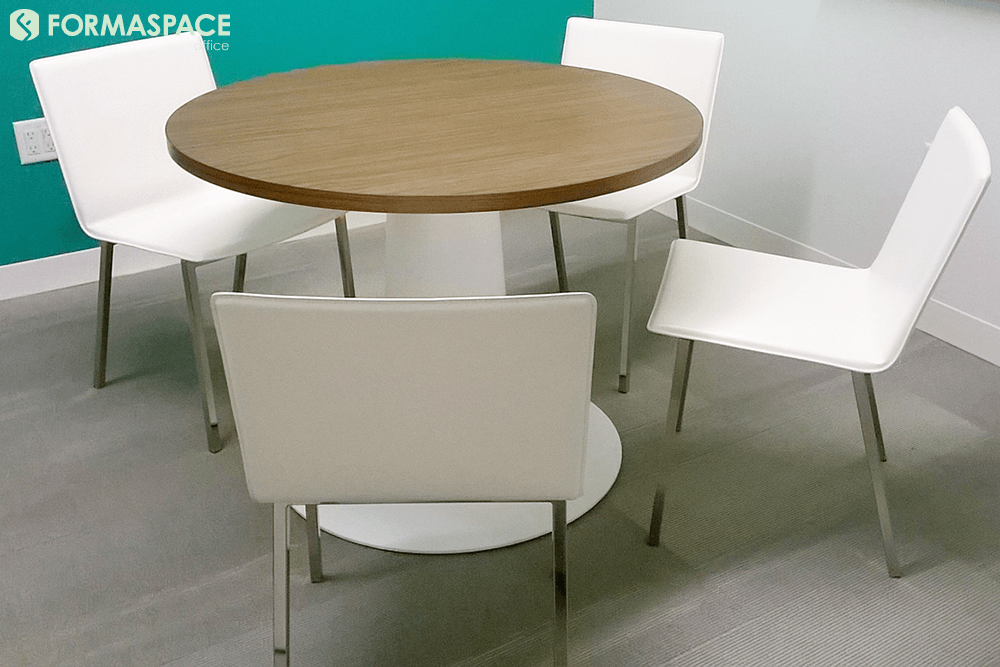 small round conference table