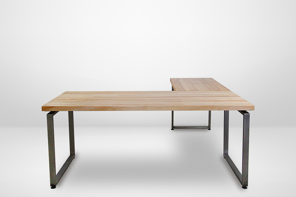 Weldmarx IV L-shaped office desk