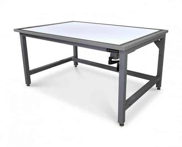 Height Adjustable Light Table