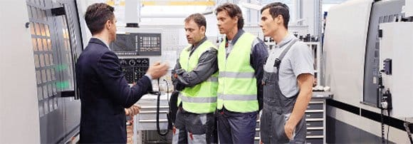 manufacturing workers