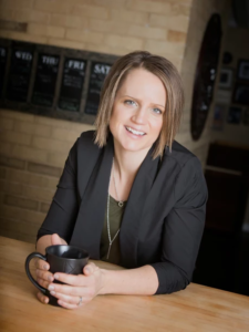 Amanda Schneider, LEED AP, MBA is a researcher, writer, consultant and founder of Contract Consulting Group. Image by Contract Consulting Group.