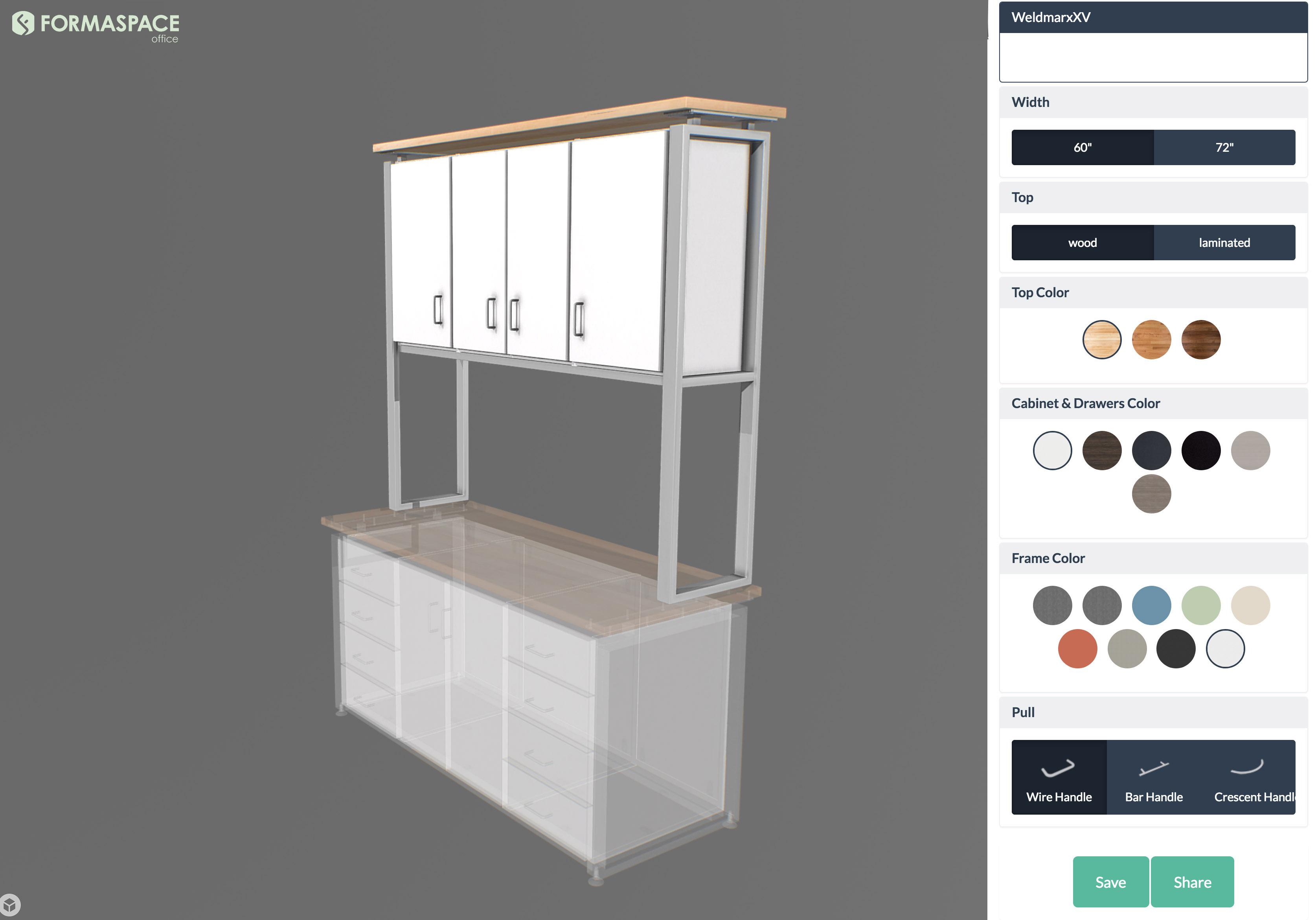 Formaspace Office 3D Configurator