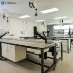 wet lab modular bench