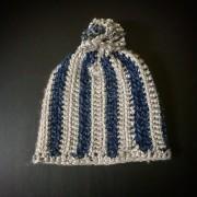 Hand Crocheted Hat for a Dallas Cowboys Fan