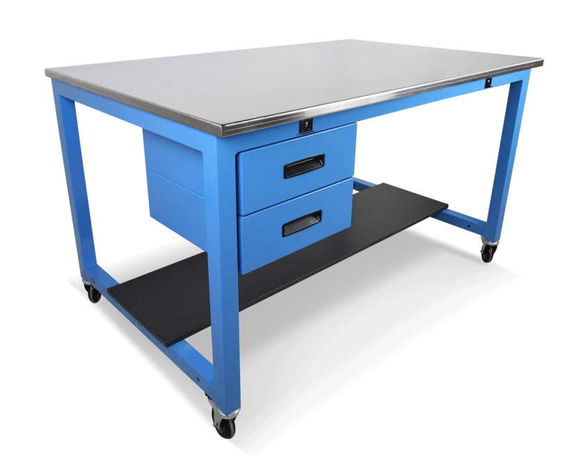 stainless steel worksurface basix workbench