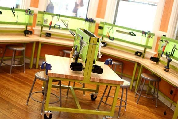 Children-sized Makerspace