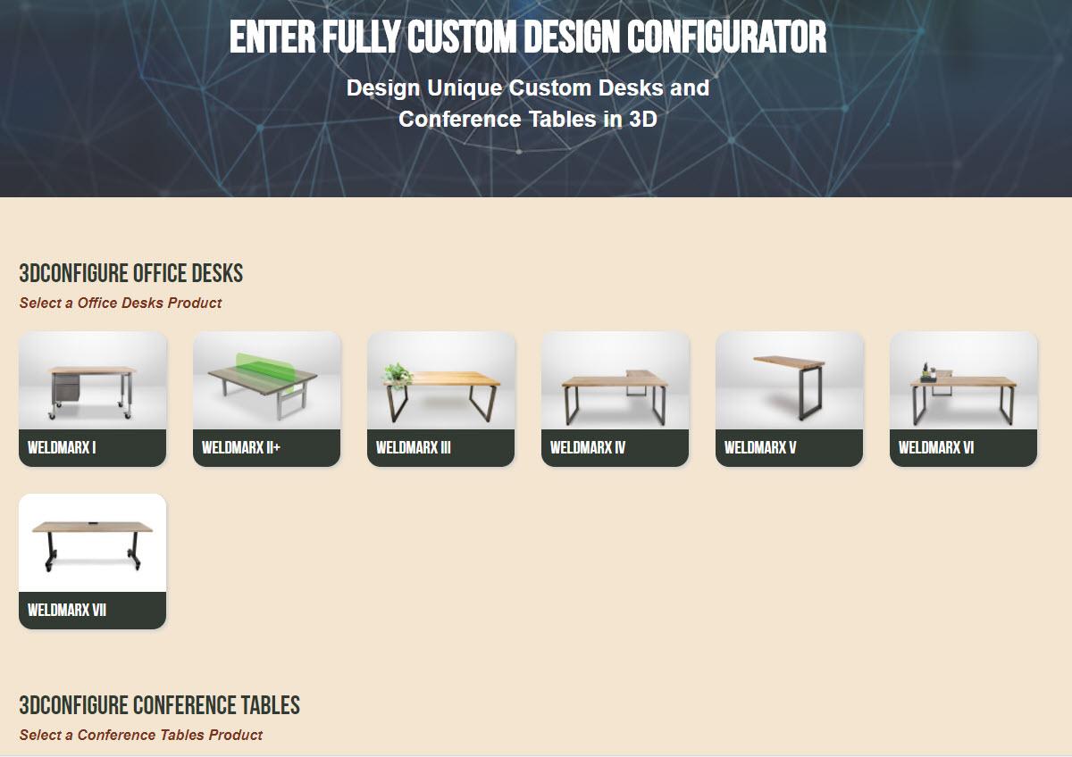 Formaspace Office 3D Configure
