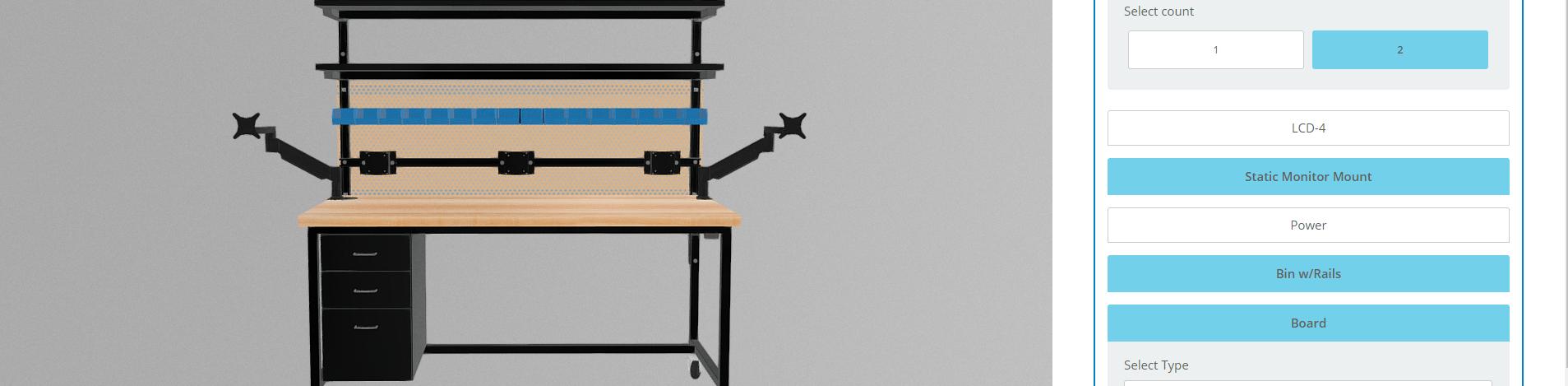 virtual workbench builder