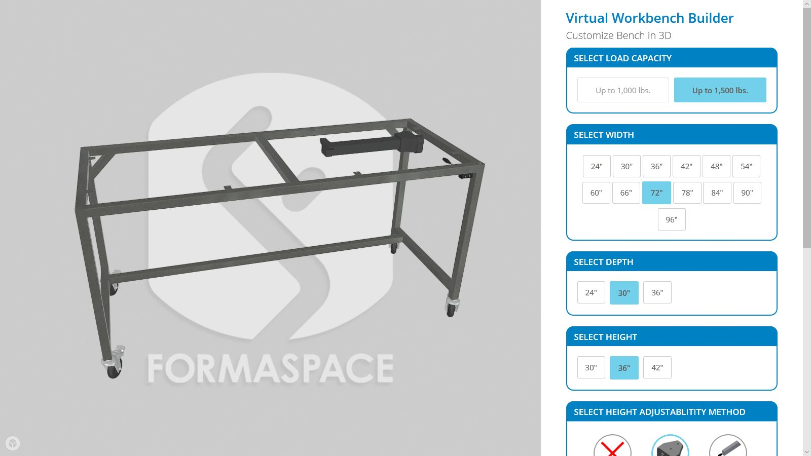 3D Virtual Workbench Builder page 1