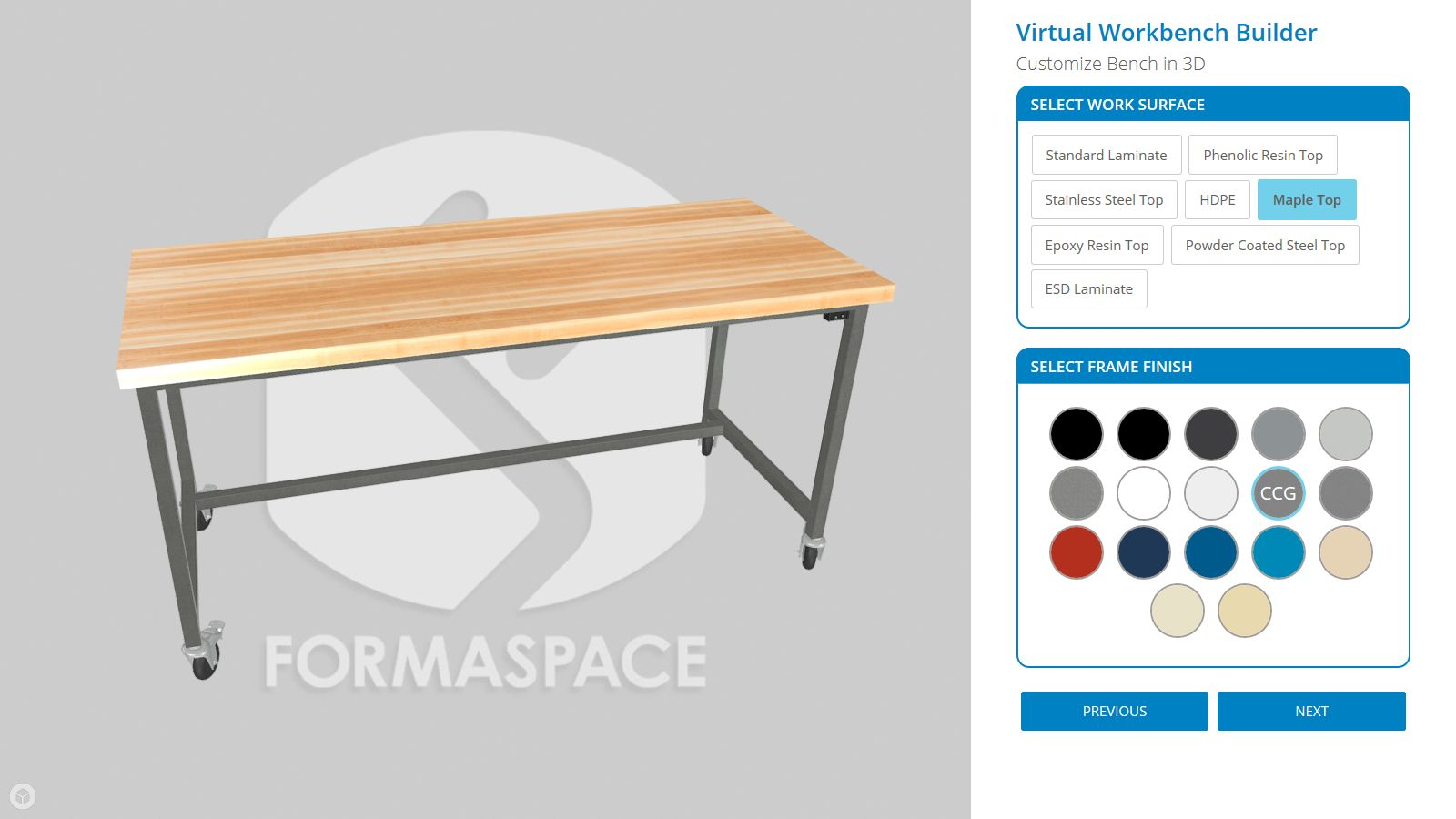 3D Virtual Workbench Builder page 2