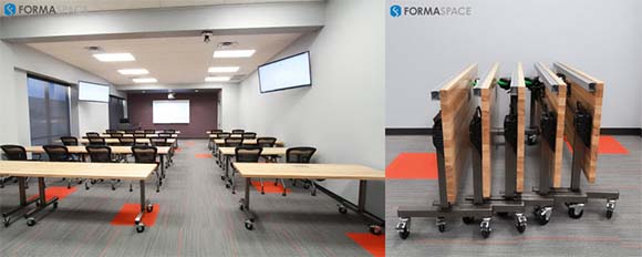 Nested training tables