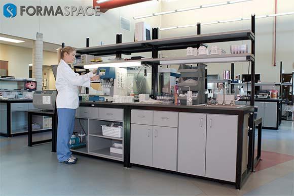 Hematologist at Sample Processing Bench
