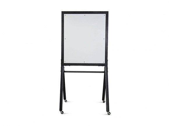 mobile white board with matte clear frame formaspace office