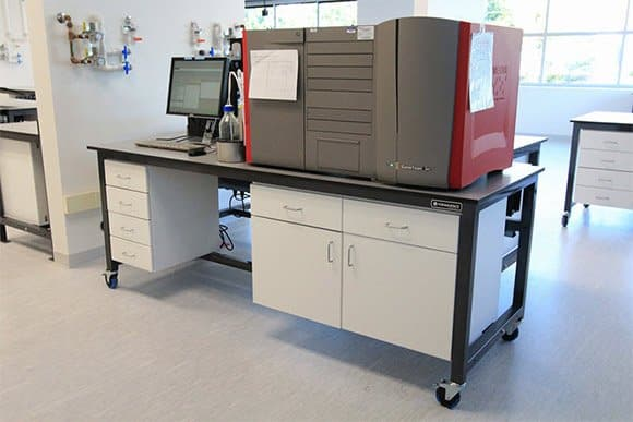 modular sample processing workbench