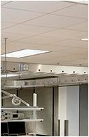 wet lab fume hood overhead service carrier