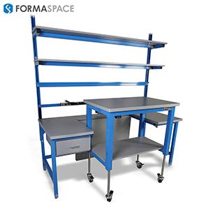 two piece custom benchmarx with height adjustability